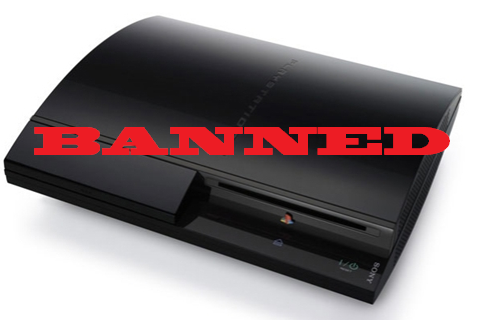 PS3 Pirates Banned