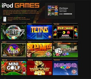 Download Free Games for The iPod