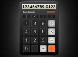 Jumbo Calculator iPad App