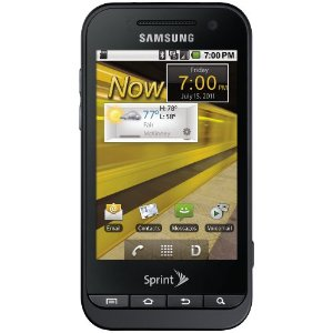 Review of the Samsung Conquer 4G - Sprint!