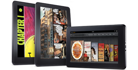 Amazon Kindle Fire Full Color Tablet: Incredible Gadget